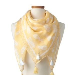 Accessories - Pineapple 🍍 Square Scarf🍍